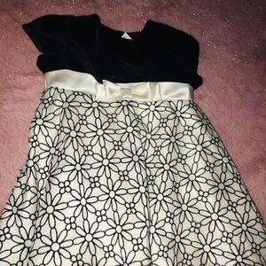 George Casual dress 24 months Black and Beige